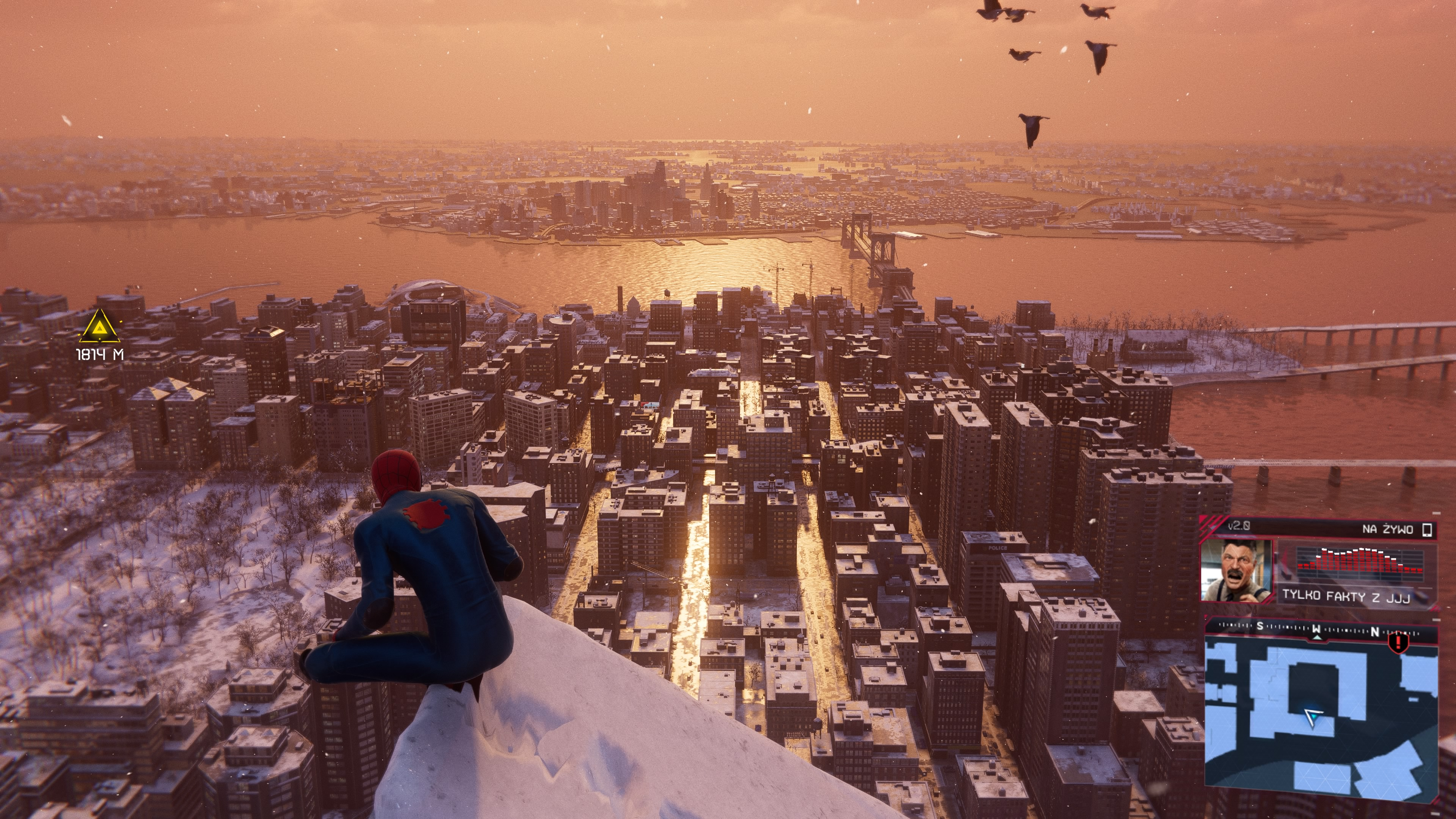 W Marvel's Spider-Man, bujanie się po Nowym Jorku to przyjemność sama w sobie