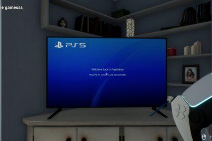 PlayStation 5 PS5 Simulator