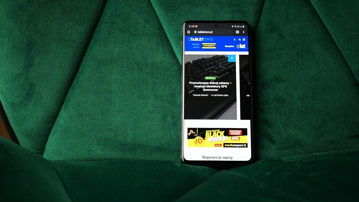 Samsung Galaxy M31s / fot. Kacper Żarski