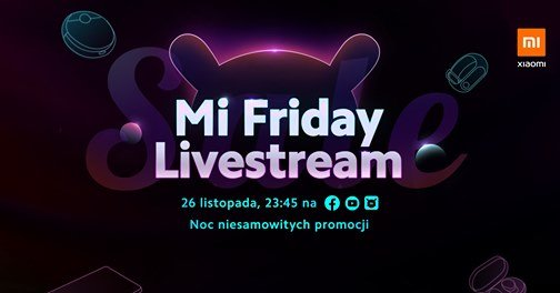 Xiaomi Black Friday 2020 livestream Facebook