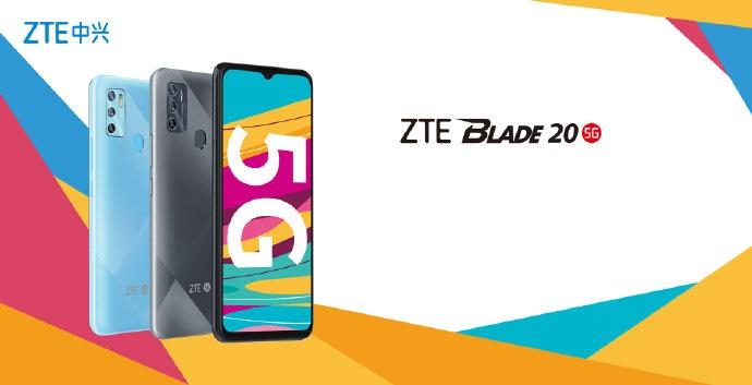 smartfon ZTE Blade 20 5G smartphone