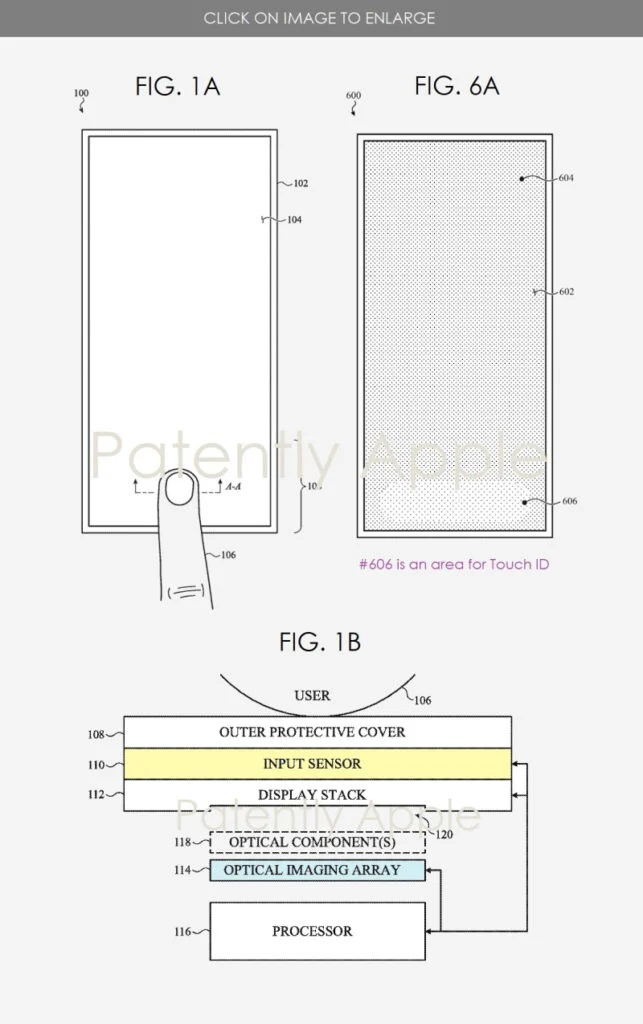 Touch ID - patent