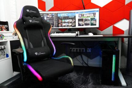 Genesis Trit 600 RGB - recenzja fotela dla maniaków RGB