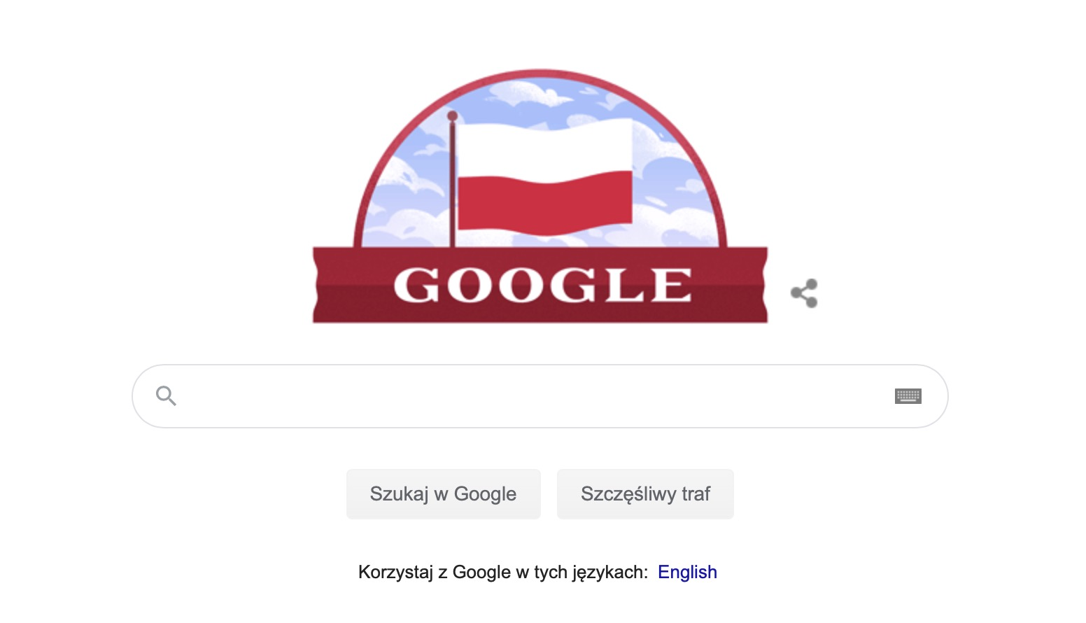 Google Doodle 11 listopada