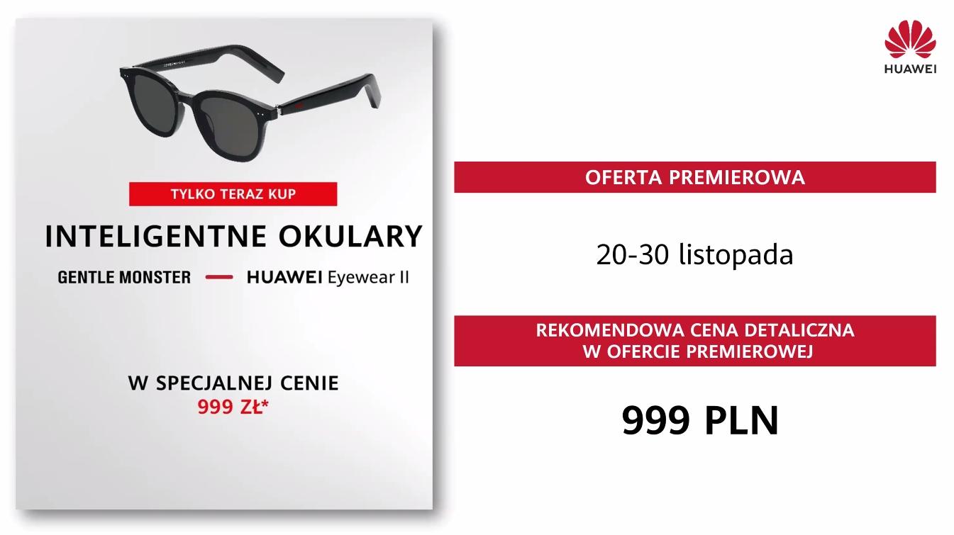 Muzyczne nowości Huawei już w Polsce - ile trzeba zapłacić za słuchawki FreeBuds Studio i okulary przeciwsłoneczne z głośnikami?