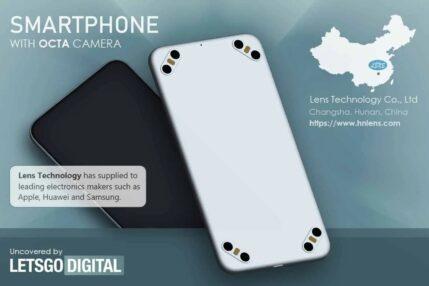 Smartfon z ośmioma aparatami wygląda jak jakiś żart, ale wkrótce może trafić do produkcji
