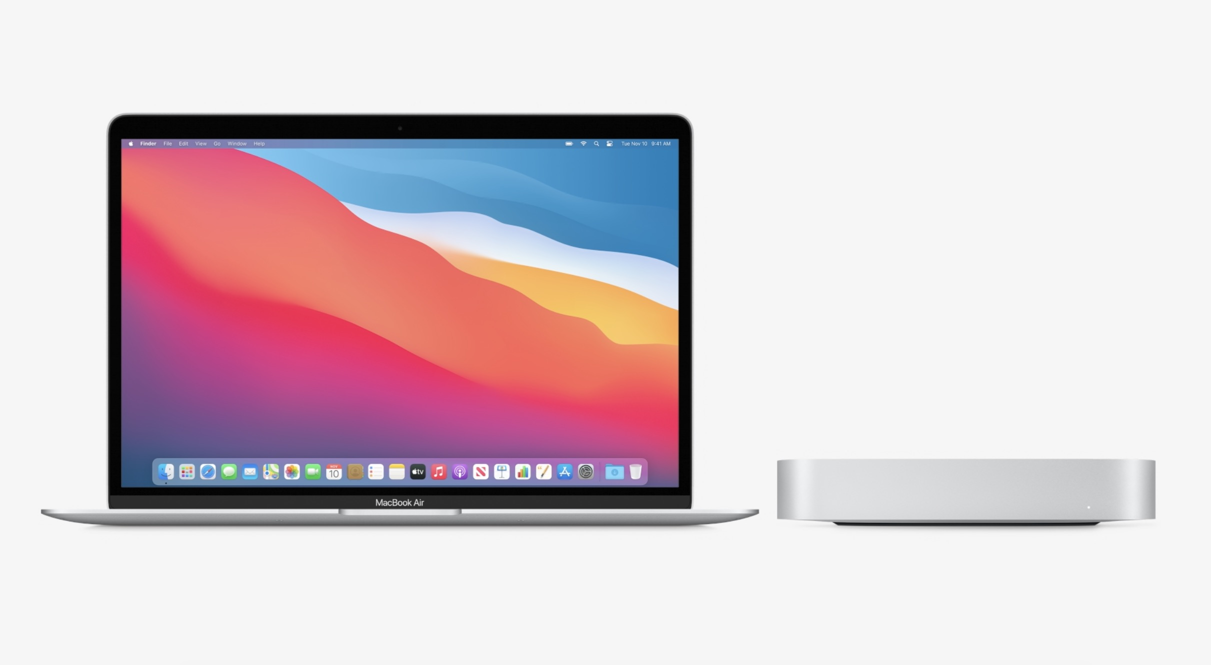 MacBook Air i Mac mini