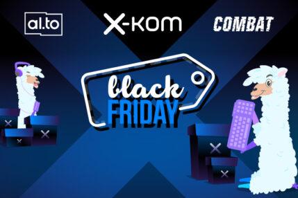Czarny Piątek w sklepie x-kom. O jakie produkty w niższych cenach warto zawalczyć?