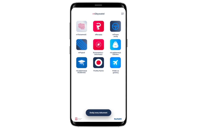 Aplikacja mObywatel – nowy wygląd