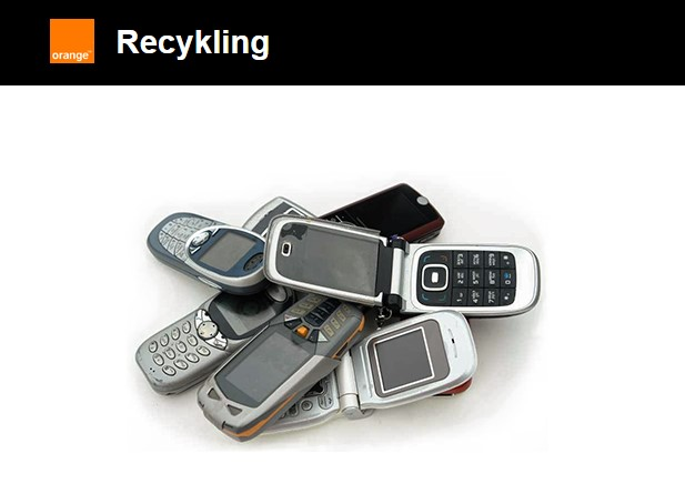 Smartfon Orange Recykling
