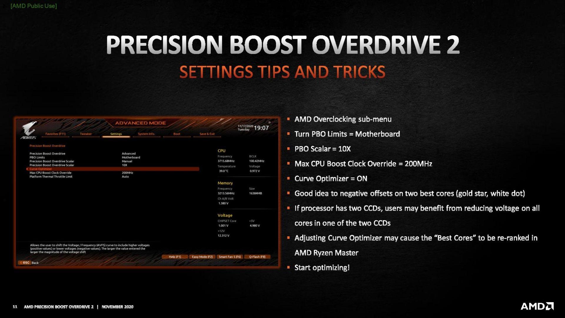 AMD Precision Boost Overdrive 2
