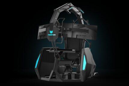 Predator Thronos Air - 35 tysięcy złotych za fotel gamingowy. Nie robi kawy, ale masuje plecy