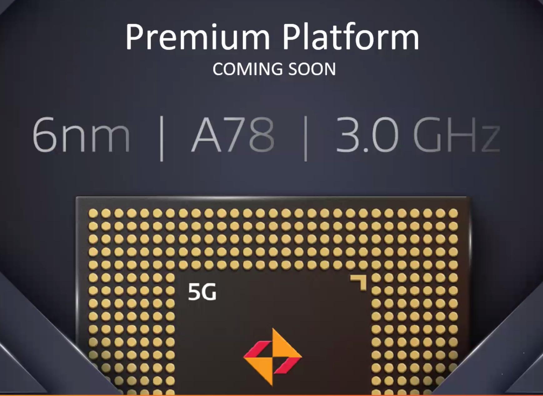 procesor MediaTek 6 nm ARM Cortex-A78 3 GHz