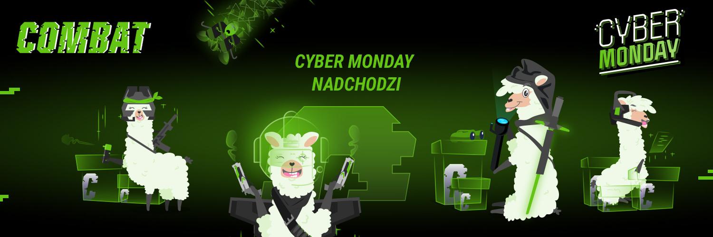 promocja Cyber Monday 2020 combat