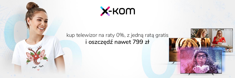 promocja x-kom Mikołajki 2020 TV