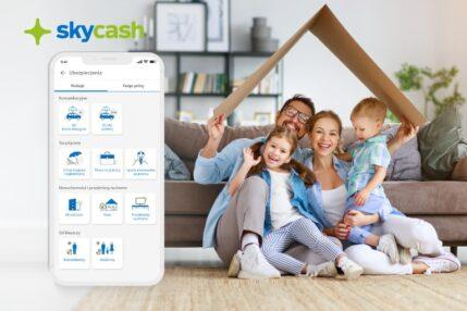 Ubezpieczenie domu lub mieszkania w aplikacji? Tak, w SkyCash