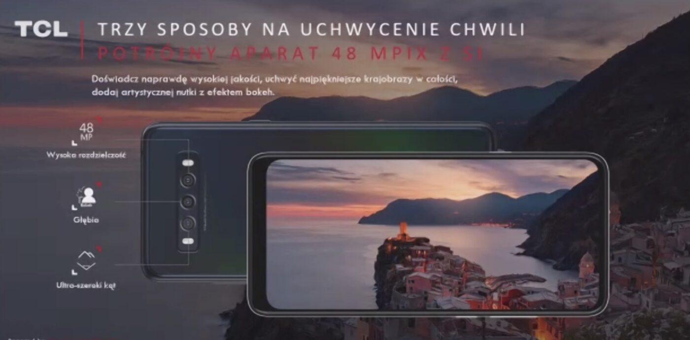 TCL rozpoczyna sprzedaż smartfonów w Polsce. Chwali się ekranami najlepszymi w swojej klasie