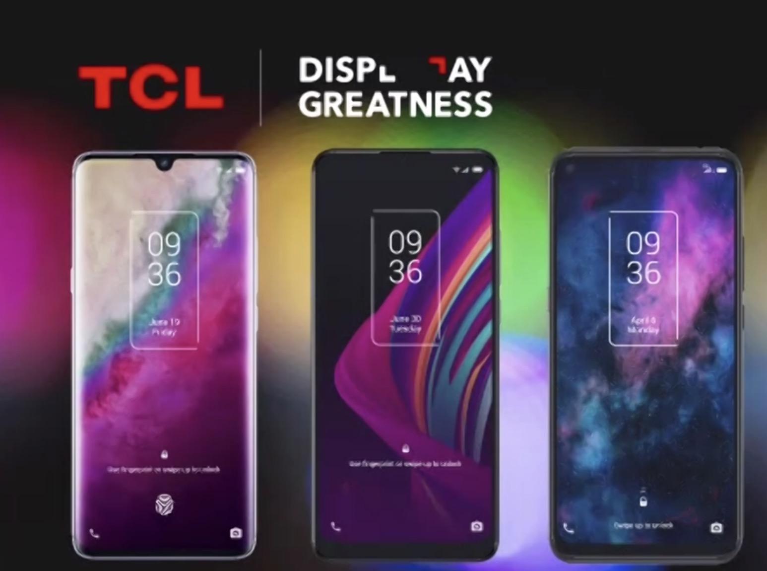 TCL smartfony