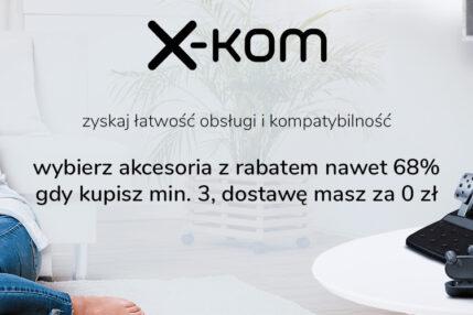 Tydzień z rabatami na akcesoria w x-kom. Do tego raty 0% na smartfony!