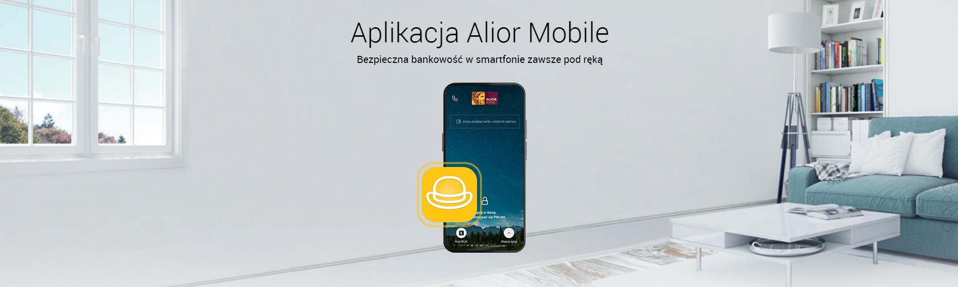 Alior Bank aplikacja Alior Mobile