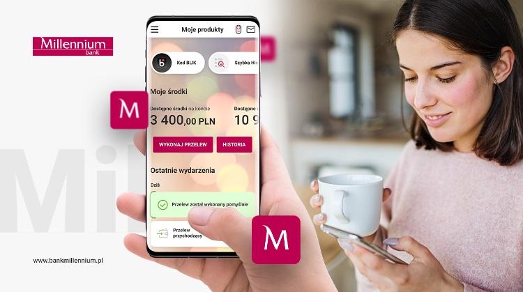 aplikacja Banku Millennium