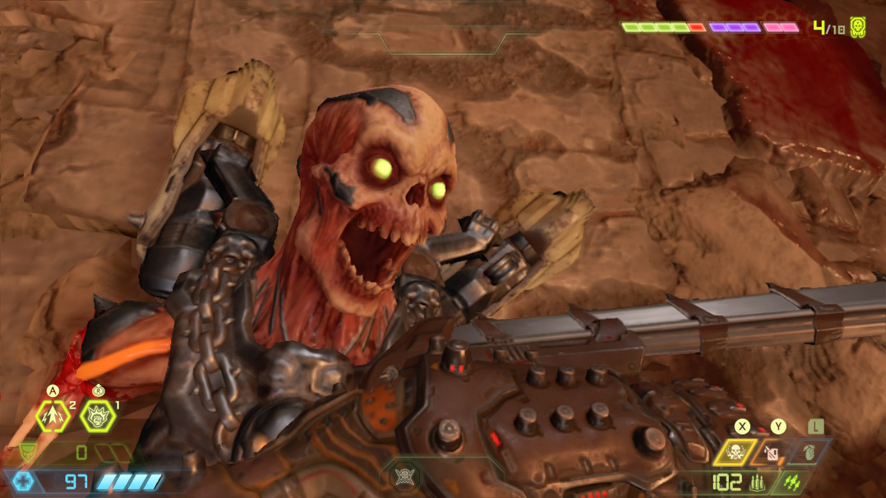 Doom Eternal Recenzja Nintendo Switch