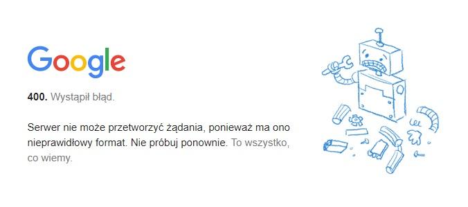 Gmail awaria nie działa grudzień 2020