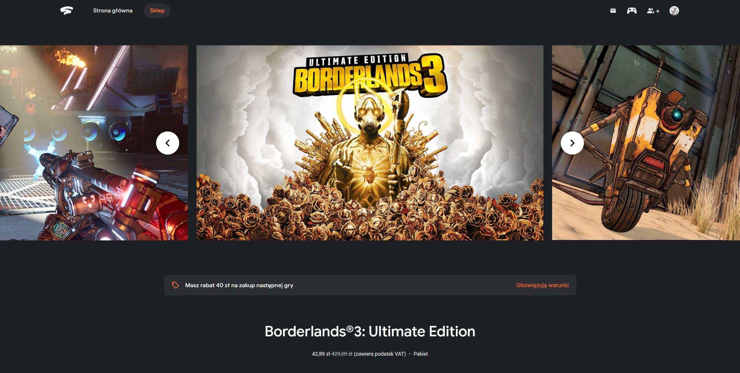 Google Stadia Borderlands 3