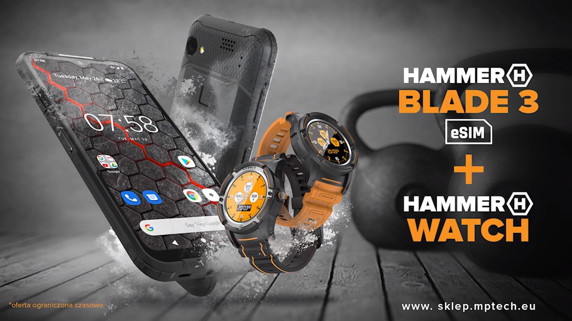 smartfon HAMMER Blade 3 HAMMER Watch