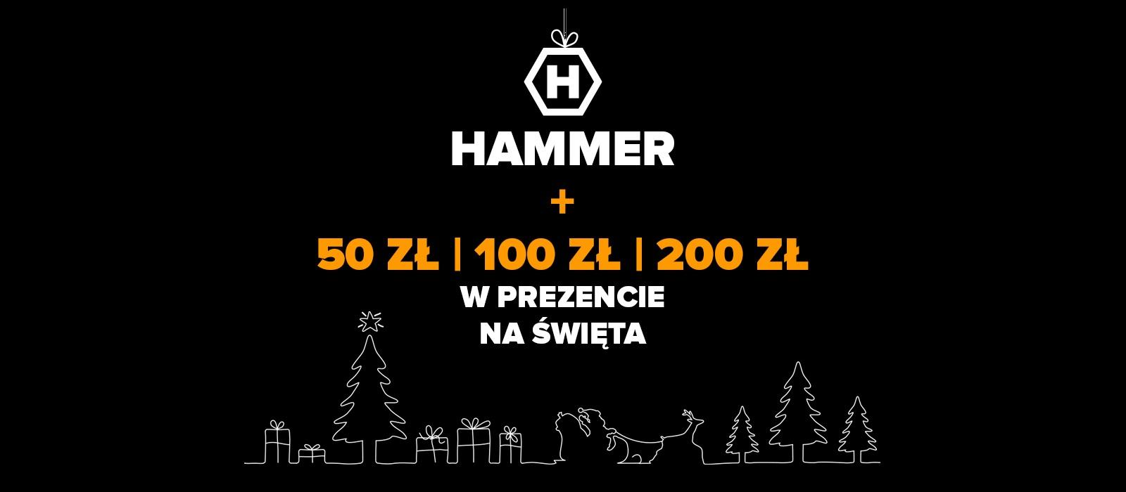 HAMMER promocja święta Boże Narodzenie 2020