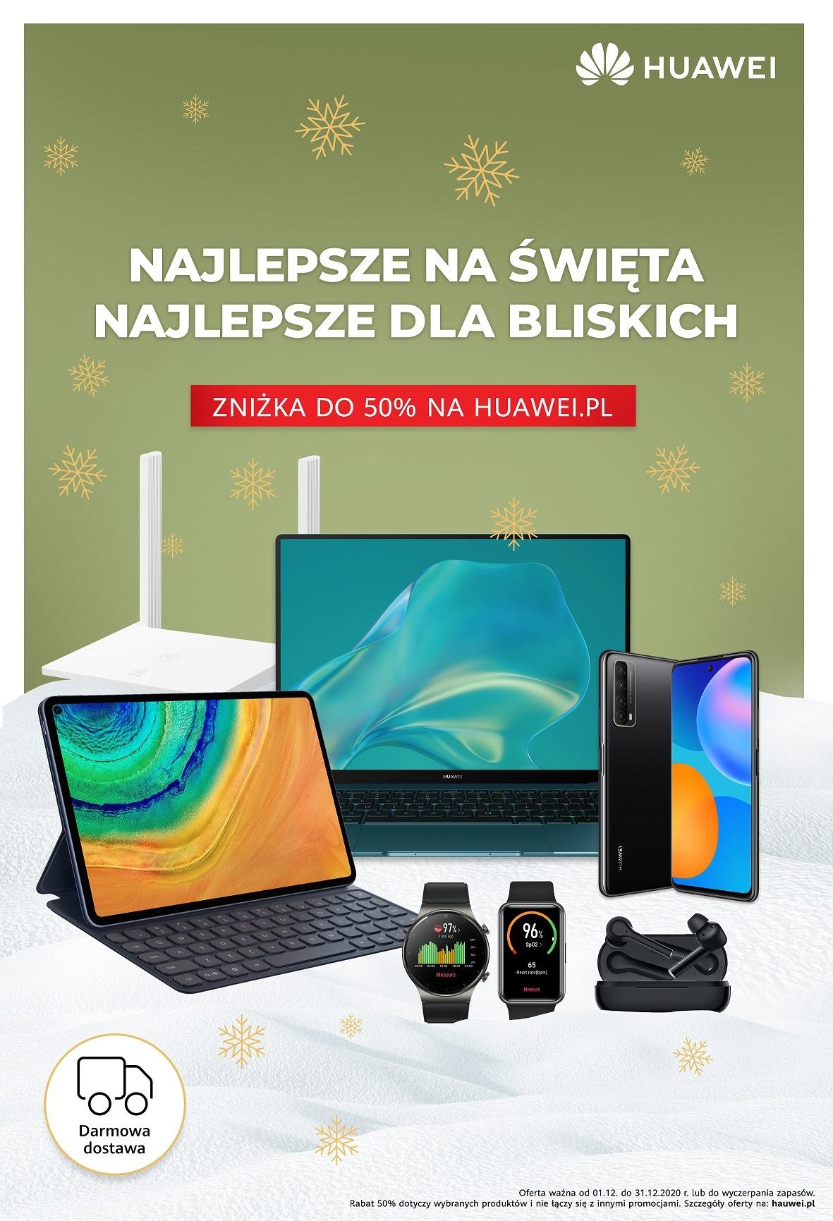 Huawei święta Boże Narodzenie 2020 promocja oferta