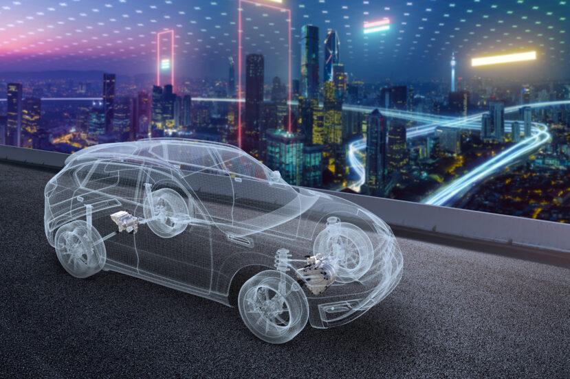 LG Magna samochód elektryczny (źródło: LG)