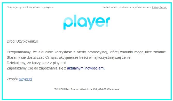 Player+ START VOD