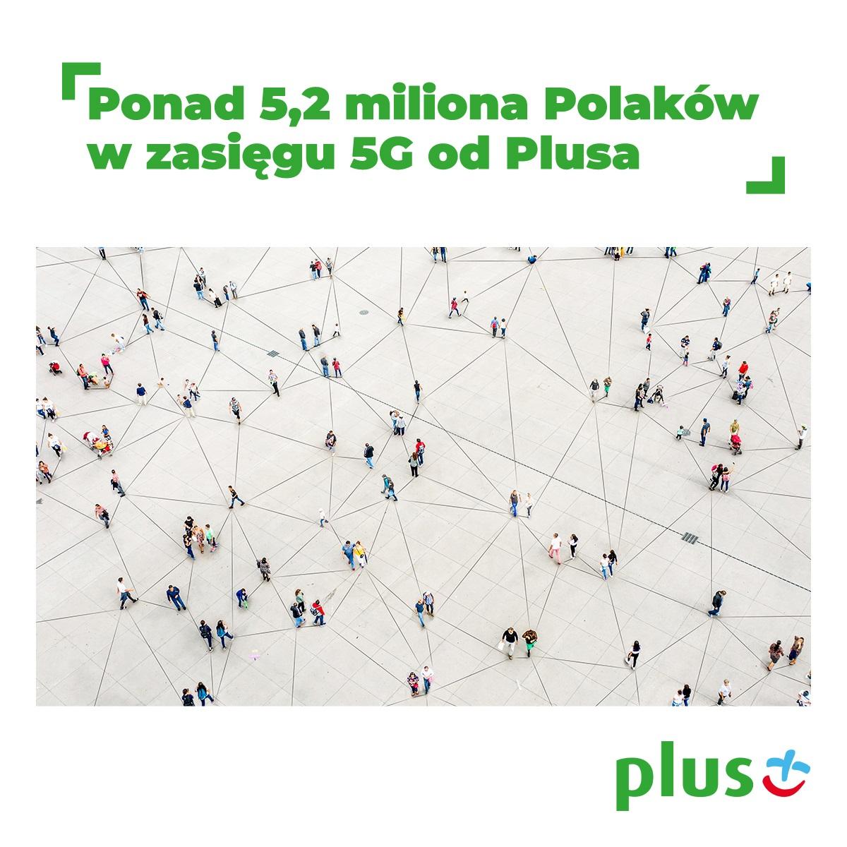 5G Plusa zasięg Polska listopad 2020