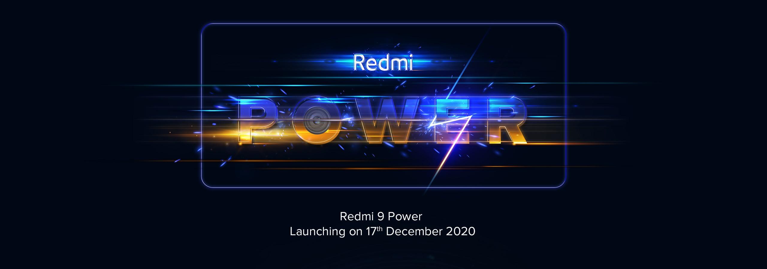 smartfon Redmi 9 Power smartphone teaser