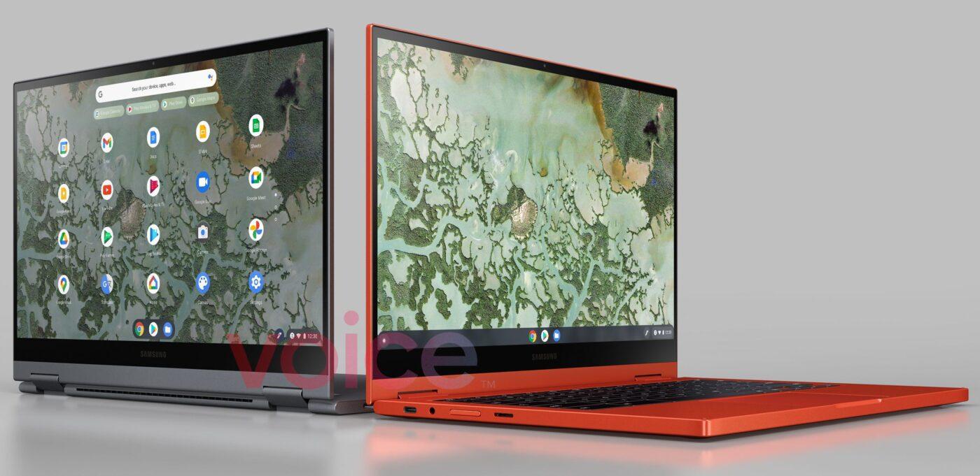 Samsung Galaxy Chromebook 2 (źródło: Evan Blass)