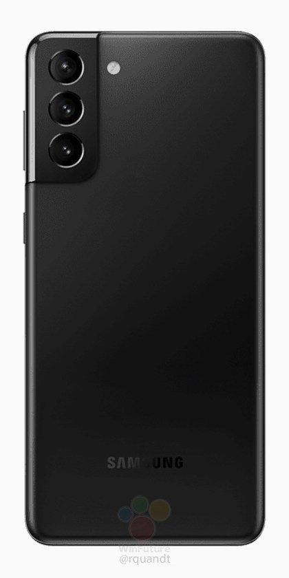 Czarny Galaxy S21+ (źródło: WinFuture)