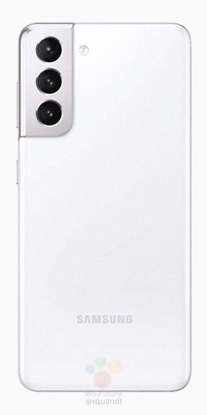 Biały Galaxy S21 (źródło: WinFuture)