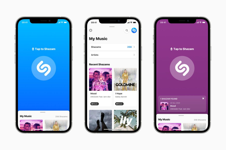 Shazam na iOS