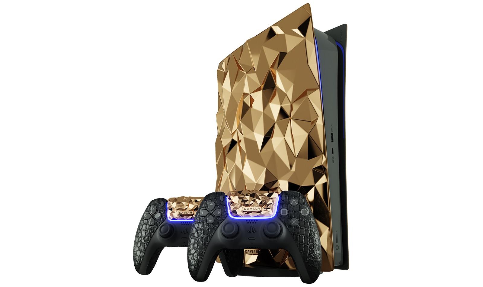 Sony PlayStation 5 Golden Rock Caviar
