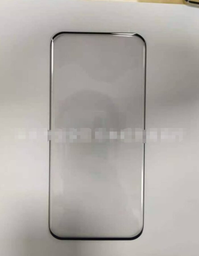 Xiaomi Mi 11 Pro screen display curved