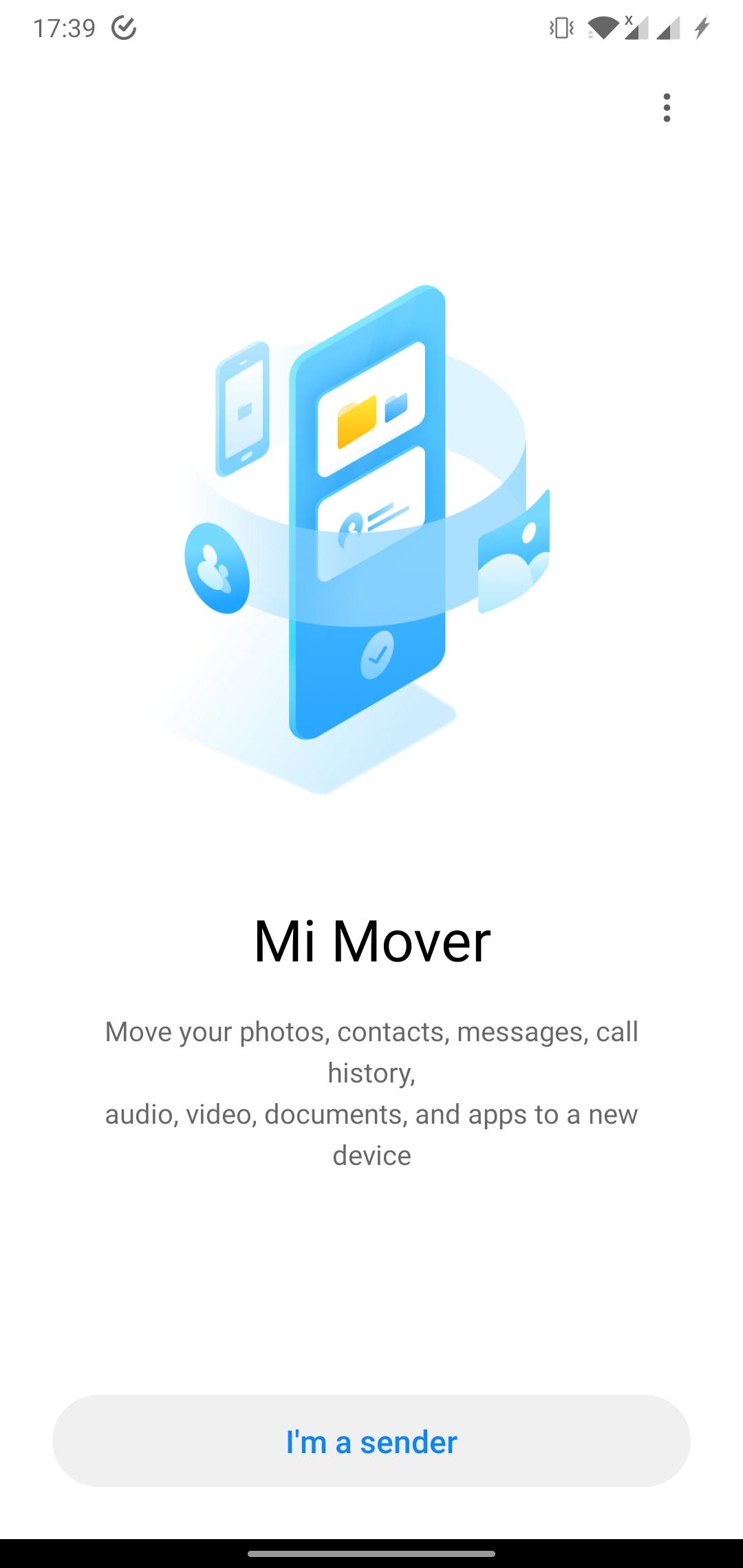 Aplikacja Xiaomi Mi Mover