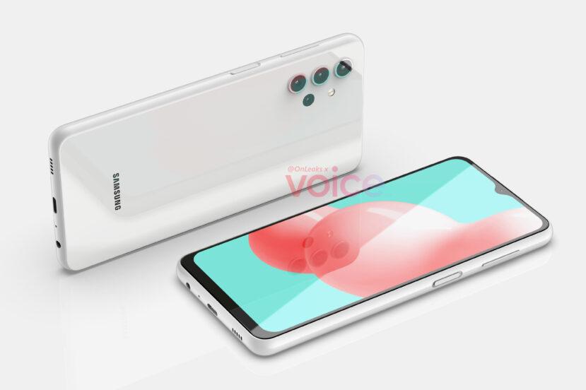 Samsung Galaxy A32 5G (źródło: OnLeaks)