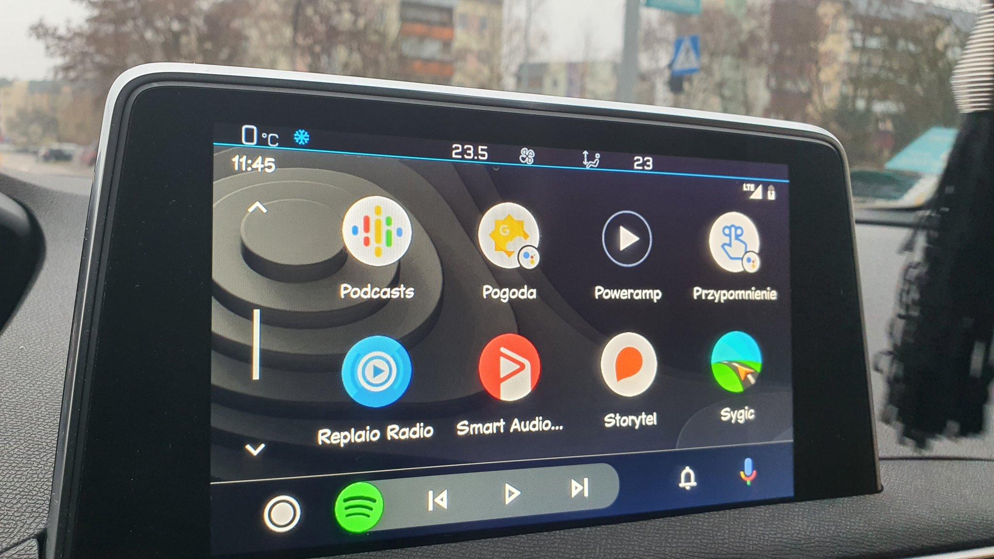 Sygic na Android Auto