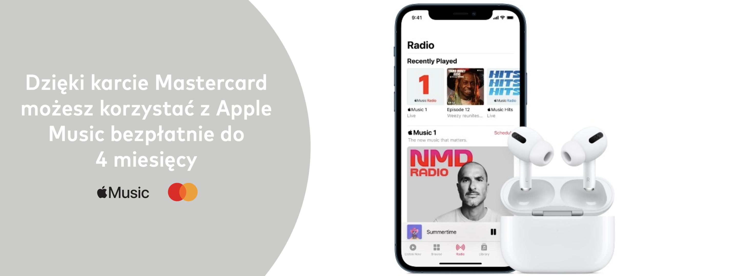 Apple Music – promocja Mastercard.