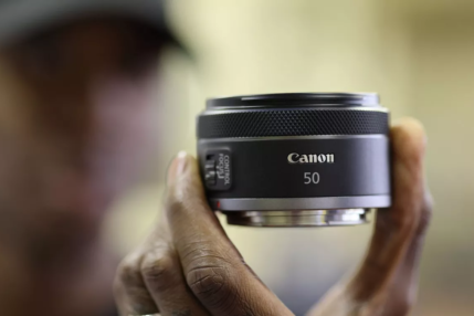Obiektyw Canon RF 50mm F1.8 STM (źródło: Canon)