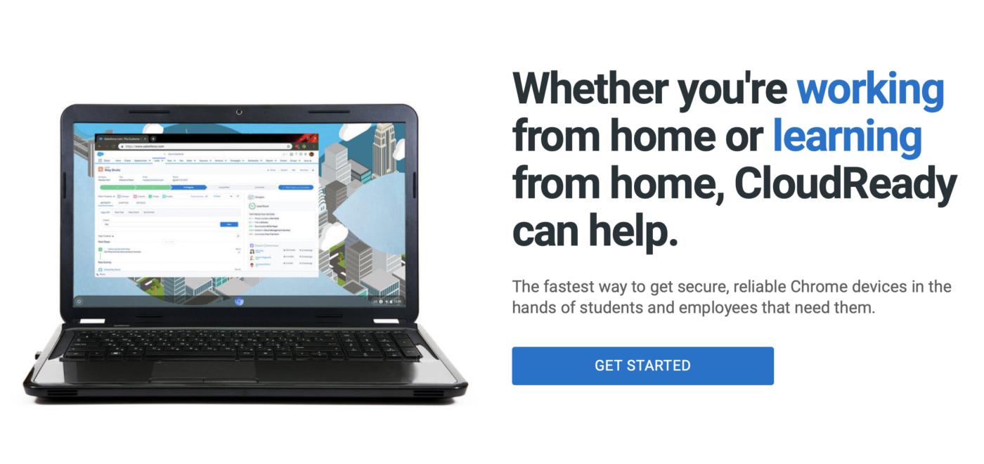CloudReady, czyli Chrome OS na każdym komputerze.
