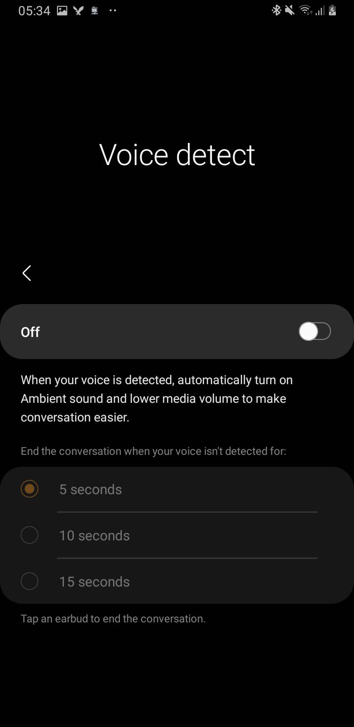 Funkcje słuchawek Galaxy Buds Pro (źródło: @TheBone/reddit)