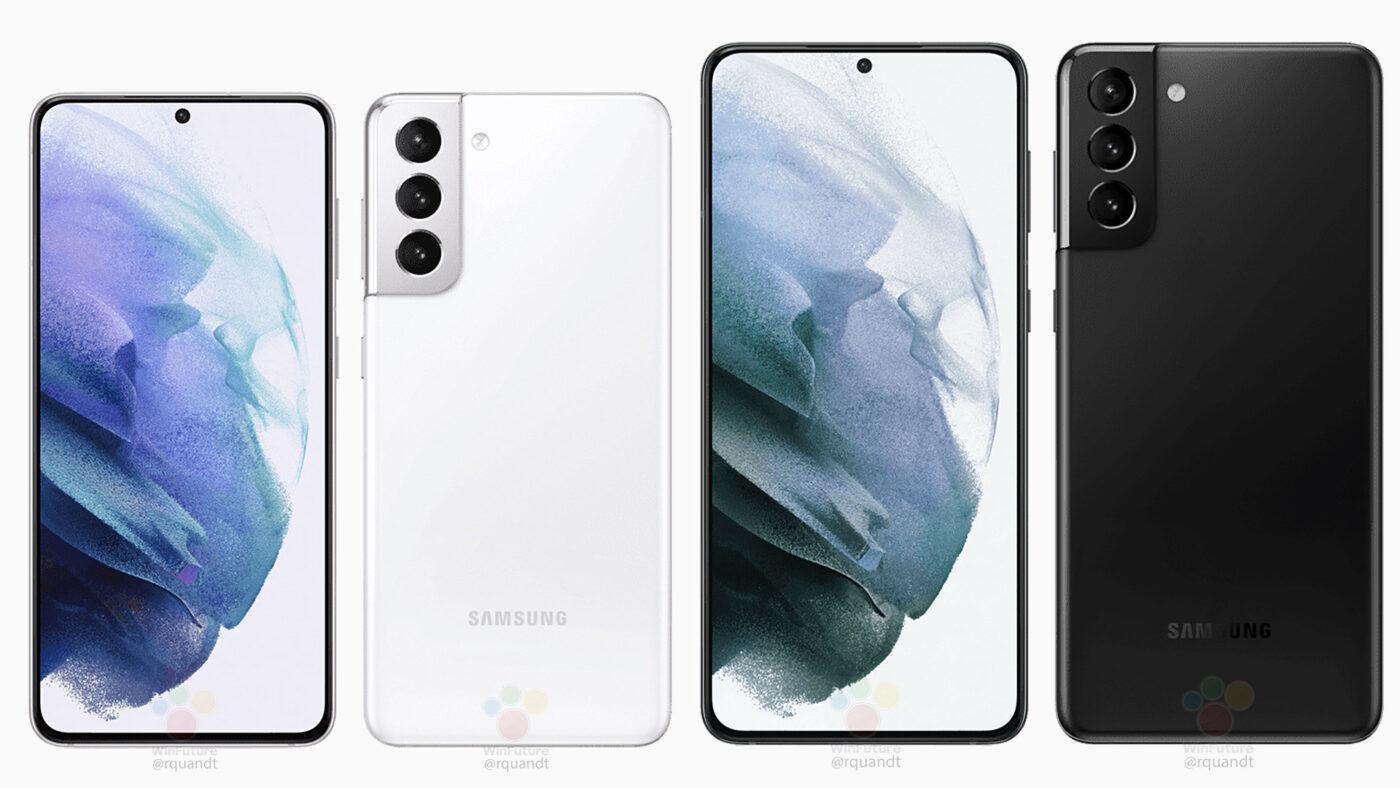 Galaxy S21 i Galaxy S21+ (źródło: WinFuture)