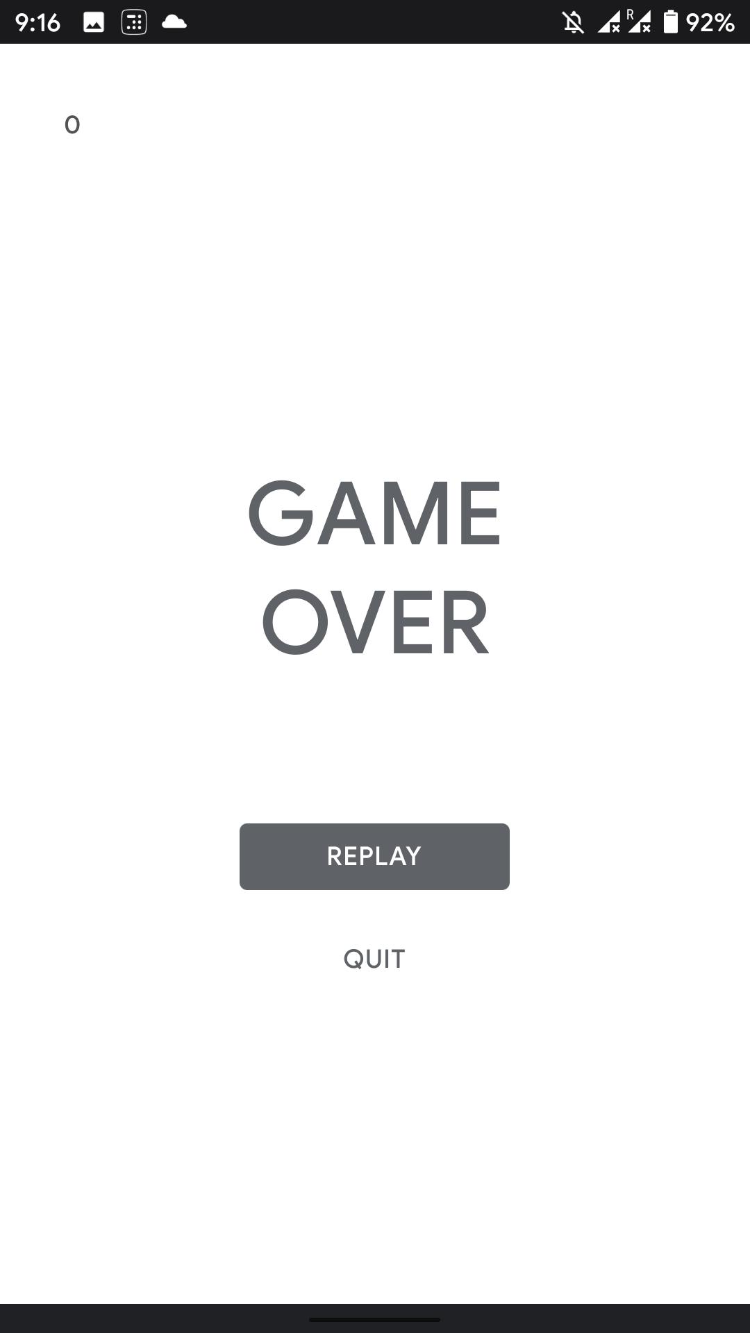 Gra offline Hot Air Balloon w Google Play Store (źródło: Android Police)